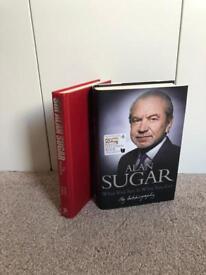 Alan Sugar Book Collection