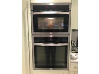 John Lewis combination oven and electric fan oven