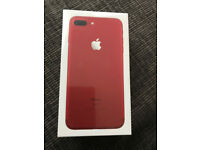 iPhone 7 plus Red 128gb Smartphone BRAND NEW, BOXED, SEALED & UNLOCKED