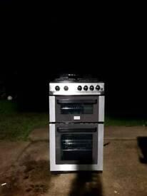 Zanussi ZCG563FX gas cooker 50cm
