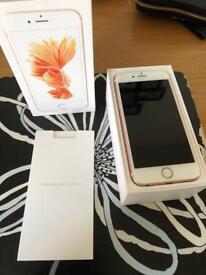 I phone 6s like new/boxed etc