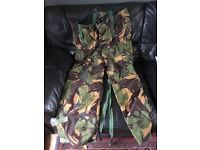 Brand New Army Combat Kit Jacket, Trousers, Belt and Sleeping Bag Liner.