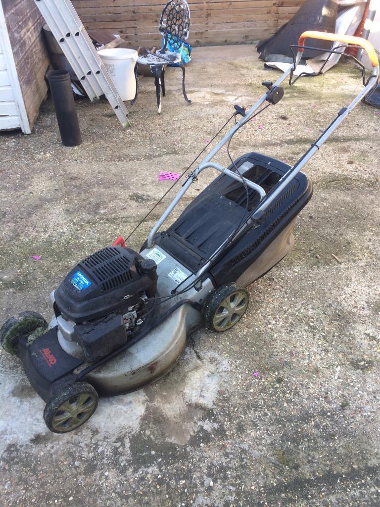 AL-KO Honda petrol lawnmower