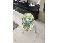 AS NEW - CHAD VALLEY BABY BOUNCER ONLY USED TWICE