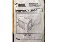 fiamma privacy room