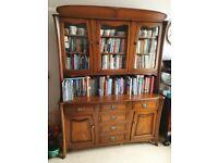 FOR SALE - Mahogany Display Unit/Bookshelves Art Nouveau/Deco style.