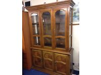 A Very Large Display Cabinet