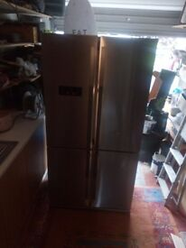 BEKO AMERICAN STYLE FRIDGE FREEZER IN EXCELLENT CONDITION IN AND OUT