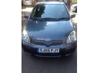 Toyota Yaris 1.3l 2005 3 door hatchback blue £995 ono