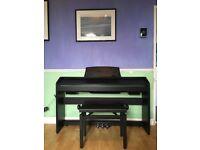 Casio Privia PX 760 digital piano and stool