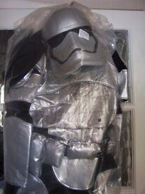 New Disney Star Wars Storm Trooper Costume Age 11-12 Years IP1