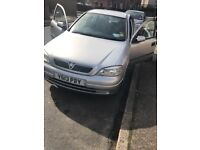 Automatic Vauxhall Astra with genuine low mileage 60k