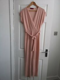 Pink jumpsuit - worn once size 14 from BooHoo