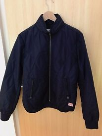 Men's G-Star Raw Quilted lightweight Jacket (Navy in size small)