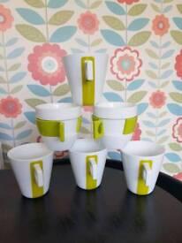 Nescafé Dolce Gusto Latte Capuccino Mugs Cups