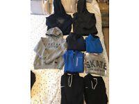 Bundle of age 9-10 jumpers/ hoodies