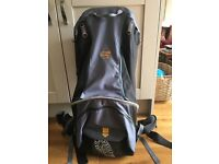 Bushbaby Pinnacle Back Carrier, Age Range 5/6 months - 4 years, excellent condition