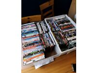 100 DVDs bundle ideal for car boot sale £20