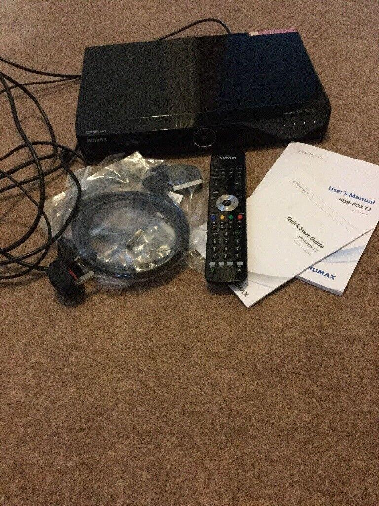 HUMAX HDR-FOX T2 DIGITAL RECORDER