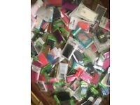 job lot of mobile phone cases x 130, iphone, android ect all new in pkts