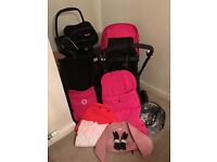 Bugaboo Cameleon 3 with recaro car seat, base and extras