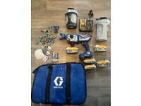 Graco UltraMax Cordless paint sprayer spraygun