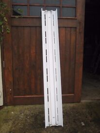 Fluorescent strip lights. Ideal for garage/workshop/home use. Excellent condition.