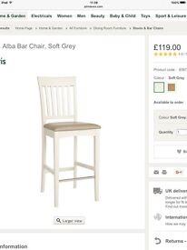 John Lewis Alba bar chairs