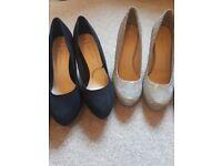 2 pairs of heels (brand new)