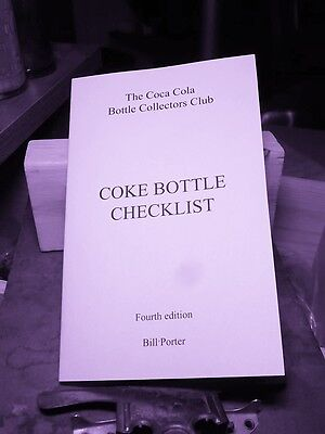"Bill Porter's ""COKE BOTTLE CHECKLIST"" 4th edition"