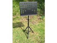 Robust music stand. Hardly used.