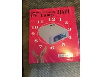 UV nail lamp - brand new in box - unwanted gift