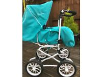 Silver Cross buggy, Pram, pushchair, play, doll house, swing, seat, chair, crib