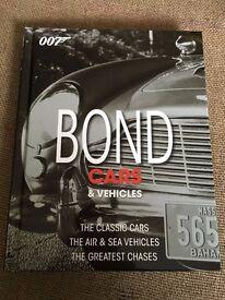 James Bond 007 Collectors car book NEW