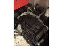 V.W/SEAT/AUDI,BMN 170 BHP ENGINE WITH INJECTORS,DIESEL PUMP,HEADGASKIT ISSUE,SPARE OR REPAIR