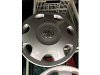 Vauxhall 13inch wheel trims x4