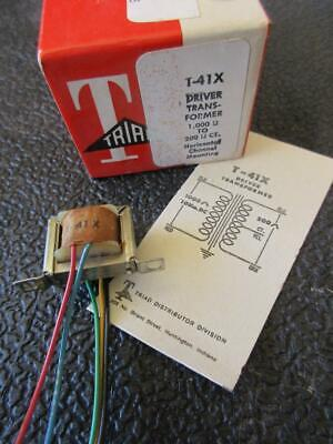 Triad Miniature Audio Transformer T41x Sec 200ct Pri 1000 1mw Driver