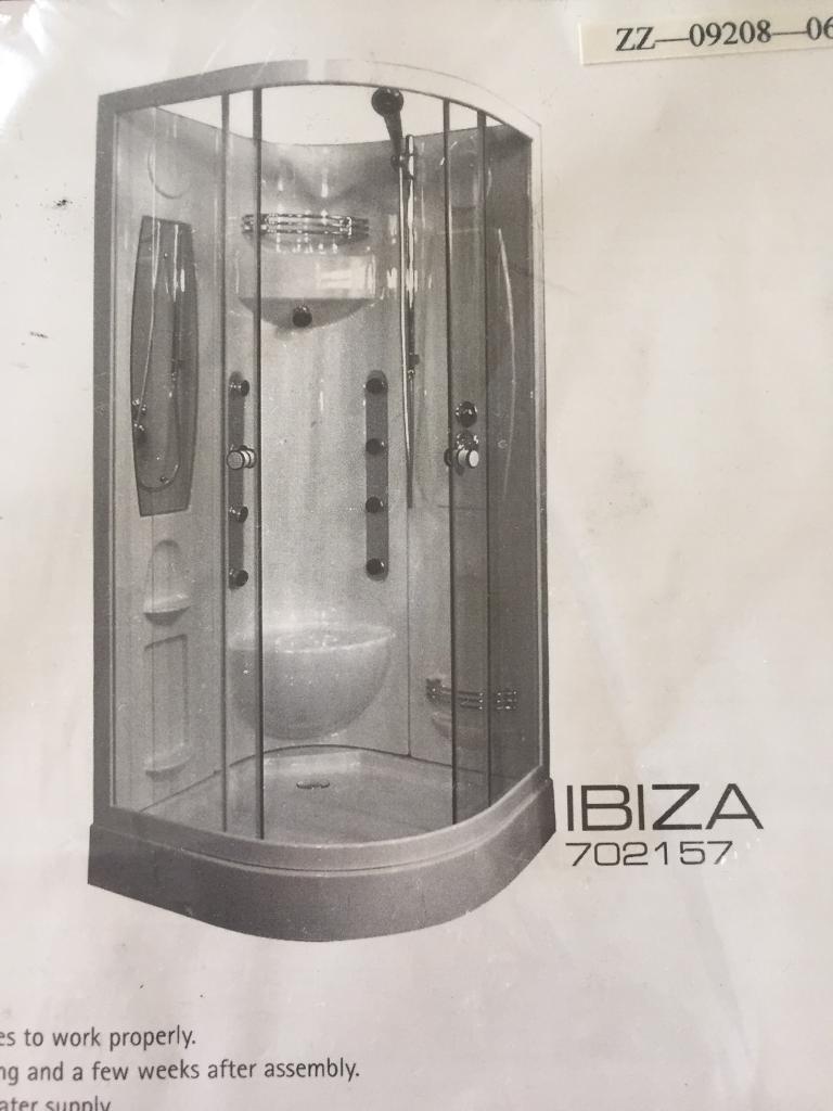 Ibiza hydro cabin shower enclosure | in Prestwick, South Ayrshire ...