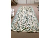 Very large beautifully made curtains (TWO pairs)