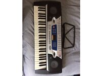 54 key 'Gear4Music' portable keyboard with stand