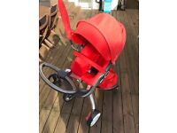 Stokke Xplory Complete set suitable from Birth upwards
