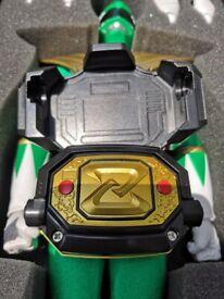 Rare Bandai Zyuranger MMPR Dragon Buckler / morpher