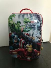 Marvel Avengers kids wheeled hard shell cabin suitcase