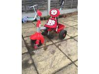 Little tikes trike red