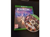 Deadrising 4 for xbox one used but mint condition