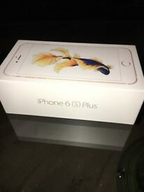 iPhone 6s Plus Gold 64GB brand in box