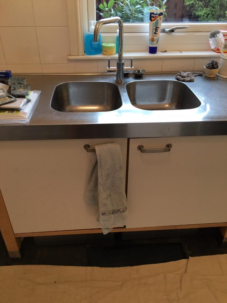 kitchen sink units freestanding kitchen units stainless steel sink and 2956