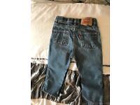 Genuine Levi's jeans age 24months