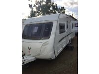 Swift conqueror 630 sal 2007 4 berth fixed bed with solar panel