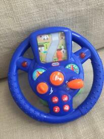 Two steering wheels V-tec